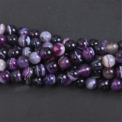 GEMSTONE Crystal ROUND BEADS 8mm (10-40Beads) Jewelry Making DIY 11