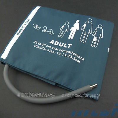 Adult NIBP Cuff With one Connector single tube Reusable,25-35 cm,with bag 3