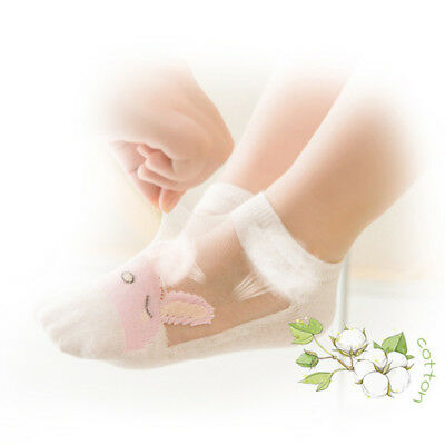 5 Pairs Baby Boy Girl Cartoon Cotton Ankles Socks Newborn Infant Toddler Soft 8