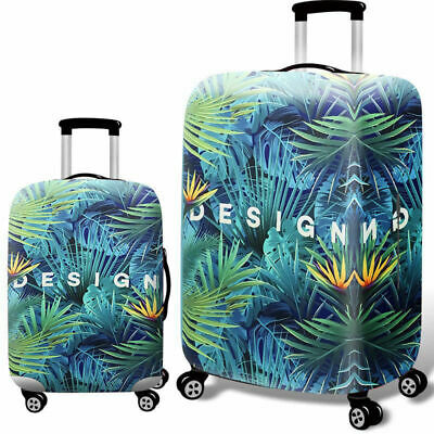 """Elastic Luggage Cover Dustproof 18""""-32"""" Thicker Suitcases Trolley Protector Case 9"""