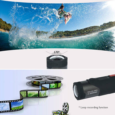 WIFI HD 1080P Sports Action Camera Bike Helmet Waterproof For Shotgun Camcorder 6