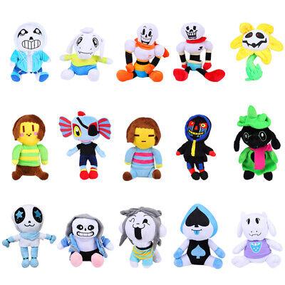 Deltarune Undertale Sans Flower Papyrus Stuffed Animal Plush Toy Kids Gift Doll