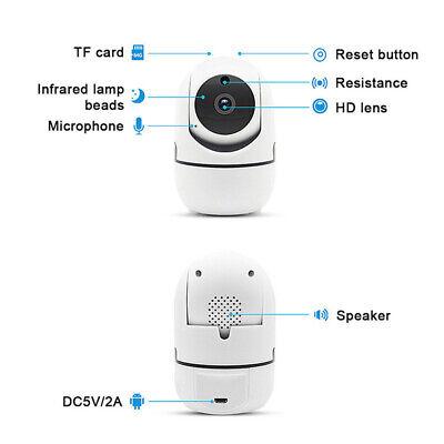 WIFI 720//1080P P2P Audio Outdoor IR Night Vision Wireless IP Camera Home SecurHI