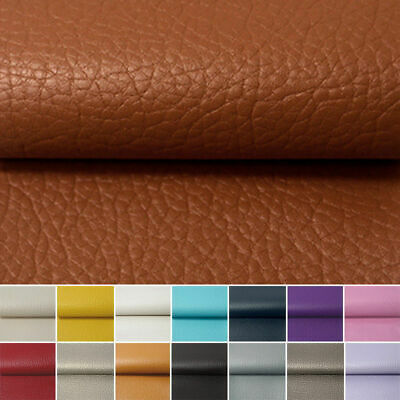 PU Leather Fabric Faux Leather For Sewing Bag Clothing Sofa Car Material DIY 5