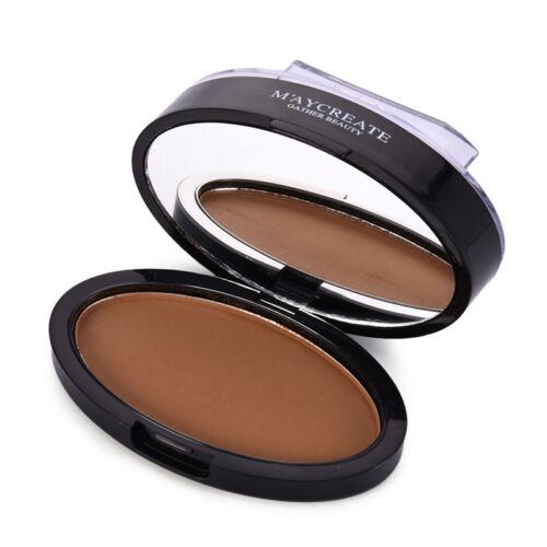 Waterproof Makeup Eyebrow Powder Eye Shadow Stamp Palette  Long Lasting Cosmetic 6