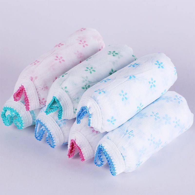7pcs Women Cotton Pregnant Panties Underwear Travel Disposable Briefs 2