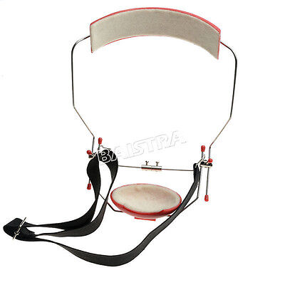 1 Set Dental Orthodontic Reverse-Pull Headgear Adjustable Red Color SALE