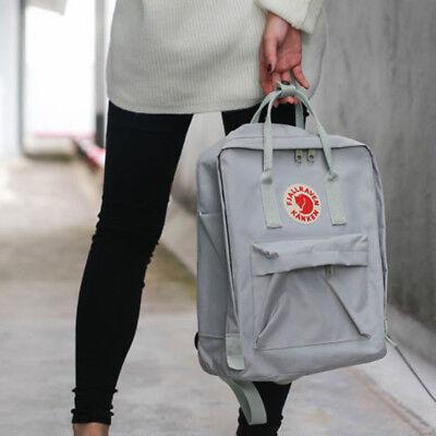 Unisexe Fjallraven Kanken voyage sac à dos bandoulière sacs d'école 7L/16L /20L 9