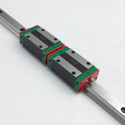 25mm HIWIN Linear Guide Rail HGR25 800mm & 2pcs HGH25CA Rail Block Slider CNC 9