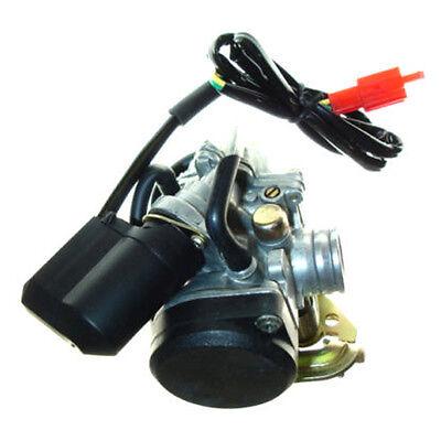 Vergaser passend für 49cc 50cc GY6 China ATV Roller Moped PD18J für QMB139 Teil