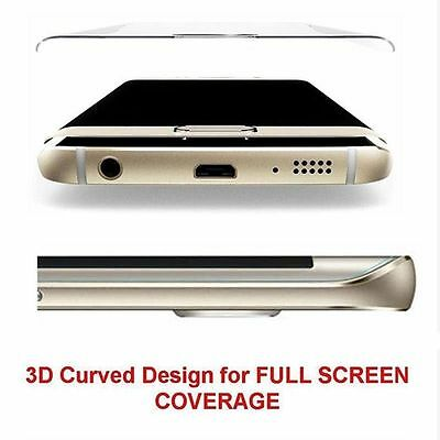 Full Cover Tempered Glass Screen Protector For Samsung Galaxy S6 S7 Edge S8 Plus 4