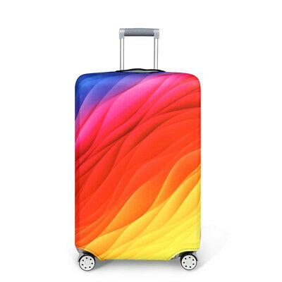 """Elastic Thick Suitcase Protective Cover Luggage Case Cover 18""""-32"""" Anti Scratch 5"""