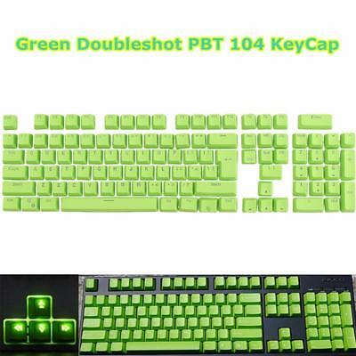 106 DOUBLE SHOT PBT Keycaps for ANSI and ISO layout Cherry MX keyboard