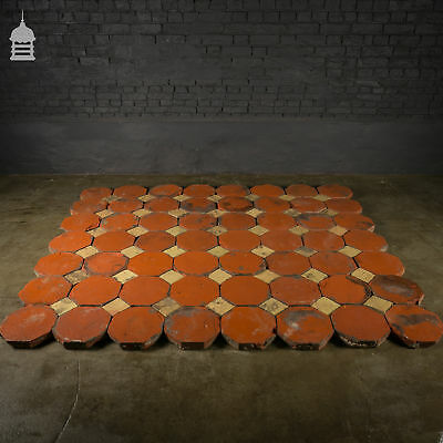Stunning 18th C Octagonal and Square Church Floor Tiles – 7 SqMs 3
