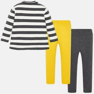 Mayoral Girls striped leggings & Long Sleeved t-shirt set (04713) aged 2-8yrs 2