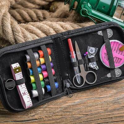 Mini Beginner Sewing Kit Case Set Home Travel Campers Supplies 4