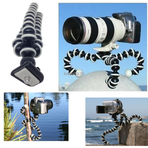 Octopus Flexible Tripod Stand Gorillapod For Canon Nikon Camera Digital DV New 2
