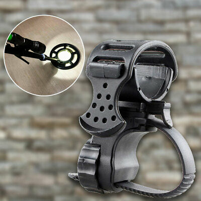 Metal Detector Detecting PIN POINTER Flashlight Holder Mount Torch Clips Clamp 7