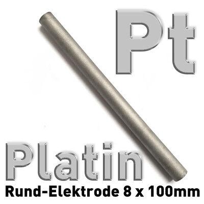 Refraktärmetalle Rund Stab 8 x 100 mm Element Probe Anode Elektrode 5