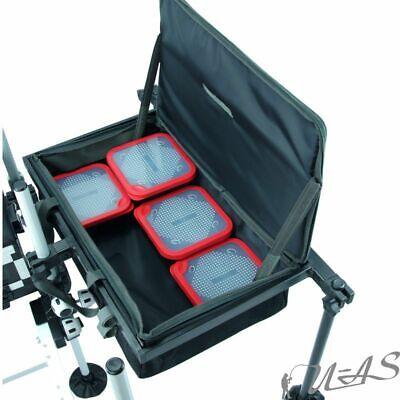 DELTA FISHING Luxus Feeder Box Futtertisch Beistelltisch Tackle Box für Kiepe 7