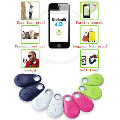 Smart Bluetooth Wireless 4.0 Key Anti Lost Finder iTag Tracker Alarm GPS Locator 6