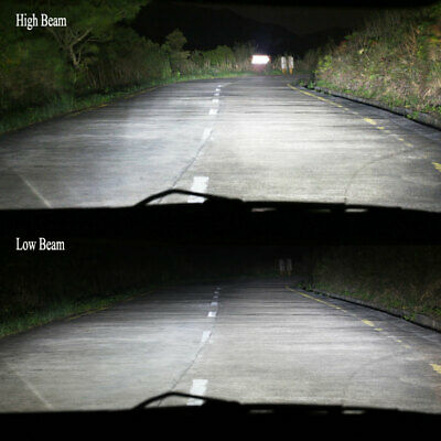 9005 LED Headlight Kit 9145 100W 20000LM High Low Beam Bulb 6000K White 9145 HB3 4