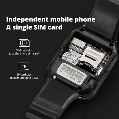 DZ09 Bluetooth Smart Watch Camera Phone Mate GSM SIM For Android iPhone Samsung 4