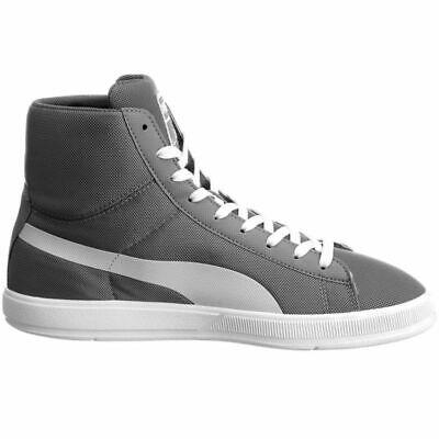 PUMA BOLT LITE Mid Steel Grey High Top Boots Trainers UK 3.5