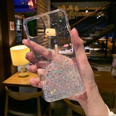 For iPhone 11 Pro XS Max XR X 8 7 Plus Glitter Shockproof Protective Case Cover 3