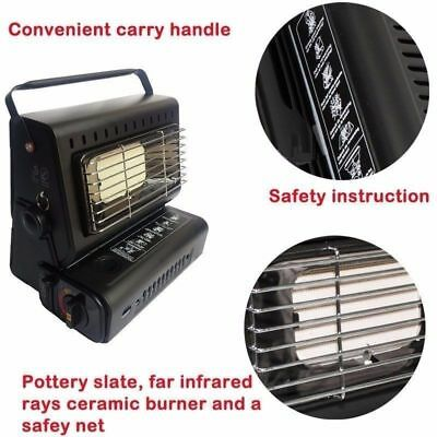 Portable Heater Stove Cooker Dual Gas Supply Camping Outdoor OBBQ59805 4