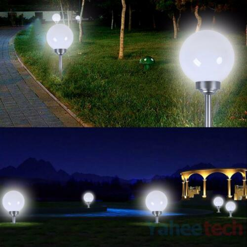 3x led kugelleuchte kugellampe gartenleuchten au en garten solarleuchten solar eur 23 90. Black Bedroom Furniture Sets. Home Design Ideas