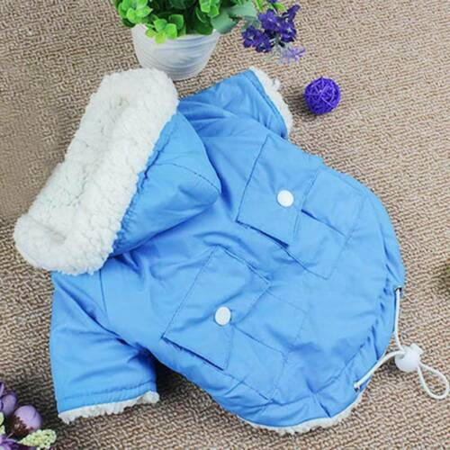 Winter Dog Coats Pet Cat Puppy Chihuahua Clothes Hoodie Warm  Dog Clothing Z 3