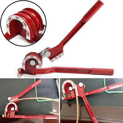 3 in 1 Tube Tubing Pipe Bender Bending Durable Copper Steel Fuel Brake Line Tool