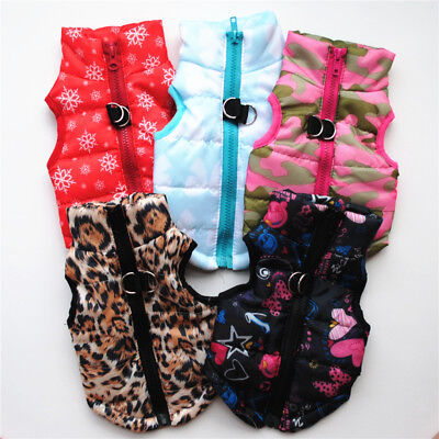 Winter Pet Dog Cat Coat Puppy Jacket Pet Supplies Clothes Apparel Costumes Cloth 3