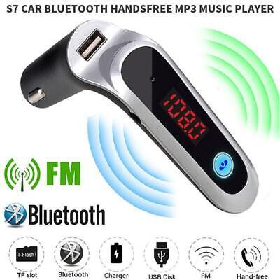 Wireless Bluetooth FM Transmitter AUX Modulator USB Charger Car Kit Handsfree IE 10