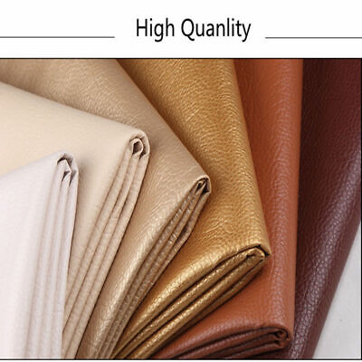 PU Leather Fabric Faux Leather For Sewing Bag Clothing Sofa Car Material DIY 6