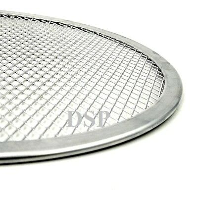 "2 QTY 5"" inch Aluminium Mesh Pizza Screen Baking Tray Bakeware Cook Pizza Net 3"