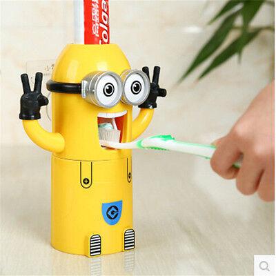 Automatisch Zahnpastaspender Zahnpasta dentifricio Zahnbürstenhalter Minions