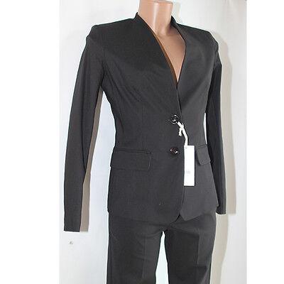 7909b38b90 ABITO VESTITO DONNA Tailleur giacca pantalone 42 Giorgia e johns nero  completo