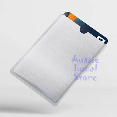 RFID Blocking Sleeve Secure Credit Card ID Protector Anti Scan Safet 4xL + 10xS 5