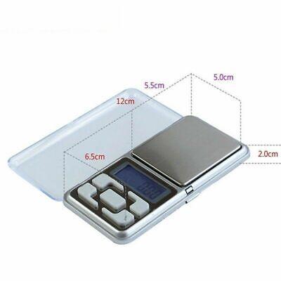 0.01g - 200g Gram Mini Digital LCD Balance Weight Pocket Jewelry Diamond Scale 3