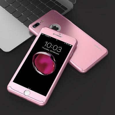For iPhone 6 7 8 5s Plus XR XS Max Case Shockproof360 Bumper Hybrid Phone Cover 7