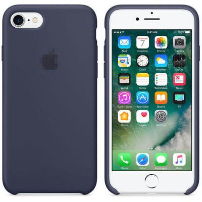Original Ultra Suave Funda de silicona Funda para Apple iPhone 8 7 6 6s Plus ES 6