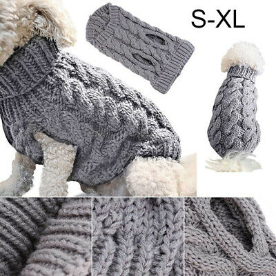Fashion Knitted Puppy Dog Jumper Sweater Pet Clothes For Small Dogs Cat Coat Hot 3