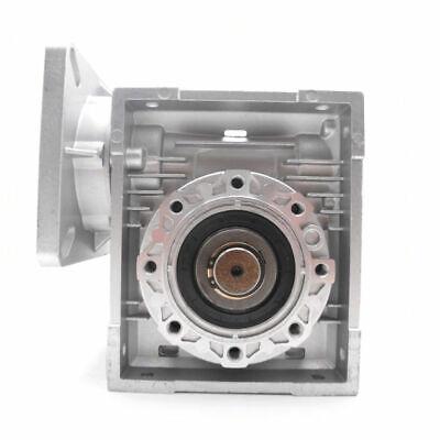 NMRV040 Worm Gear Reducer Ratio 10~100:1 Shaft for NEMA24/32/34/36 Stepper Motor 4