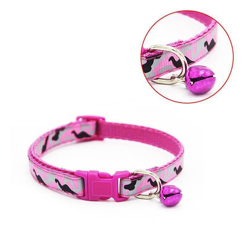 Cute Camo Adjustable Puppy Kitten Dog Cat Pet Bow Tie With Bell Necktie  Collars 7