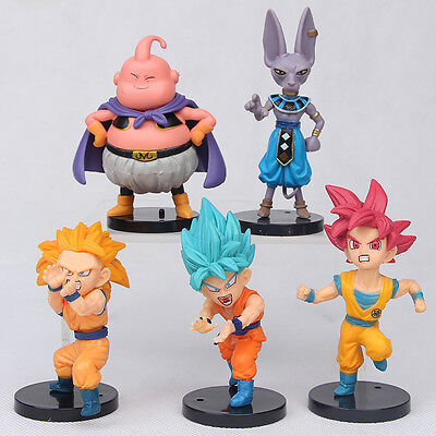 1 Of 7FREE Shipping 10pcs Dragon Ball Z Anime Figure Toys Set Collection Playset Kids Birthday Gifts