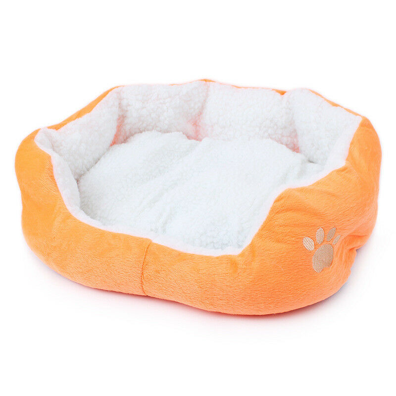 Indoor Pet Dog Cat Bed Puppy Cushion House Soft Warm Kennel Mat Blanket Washable 6