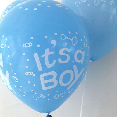 Paquet de 10 à 12 ballons en latex bébé fille / garçon ours bébé douche ball I-n 7