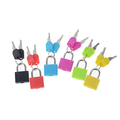 Petit mini cadenas en acier fort voyage minuscule serrure de valise avec 2p AS 3
